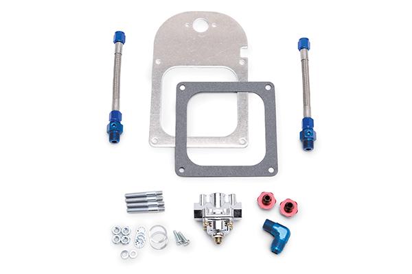 Image of Edelbrock Fuel Pressure Regulator Kits - Carbureted Engines 8193 Single Regulator Complete Kit