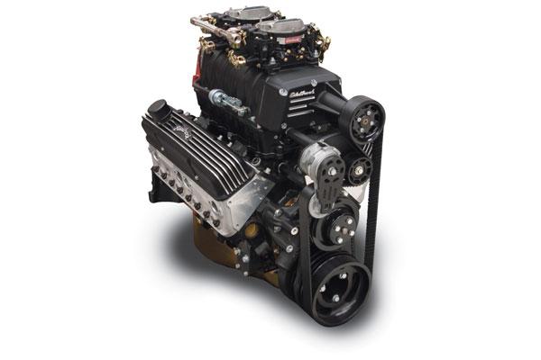 edelbrock e force enforcer supercharged crate engine sample black