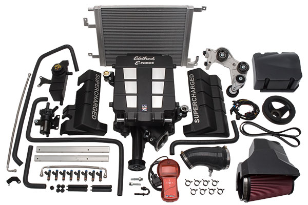 edelbrock eforce supercharger kits 1536