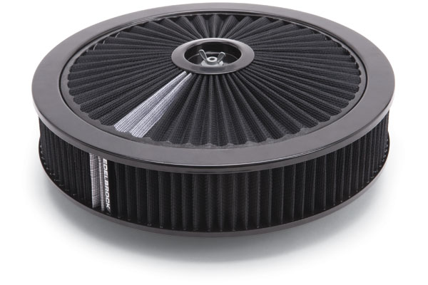 Edelbrock Pro-Flo Universal Conical Air Filter 43662 Round Air Cleaner 11398-4246536