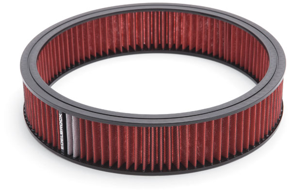 Edelbrock Pro-Flo Universal Conical Air Filter 43666 Round Air Cleaner 11398-4246538