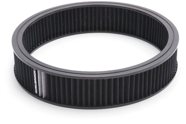 Edelbrock Pro-Flo Universal Conical Air Filter 43668 Round Air Cleaner 11398-4246537