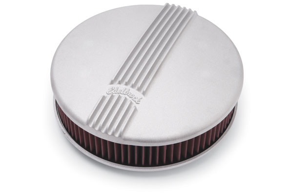 Edelbrock Classic Air Cleaner 41159 Oval 11395-4241275