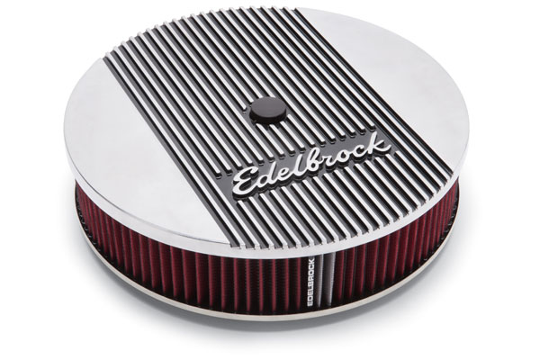 edelbrock edelbrock elite air cleaner sample