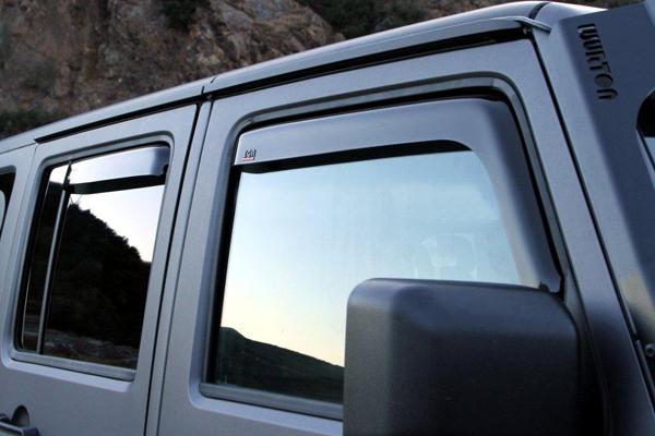 Rain Deflectors Jeep Wrangler Forum