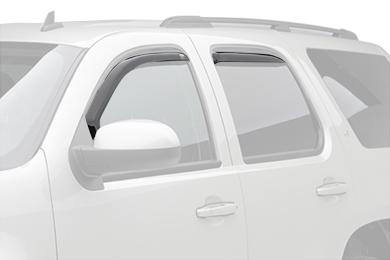 egr window deflectors dark smoke suv front rear
