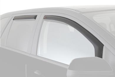 egr window deflectors light smoke car front rear
