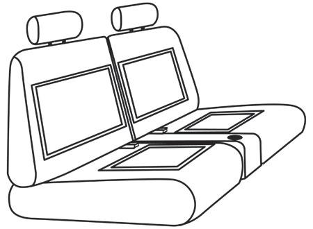 elegant seat style 06C
