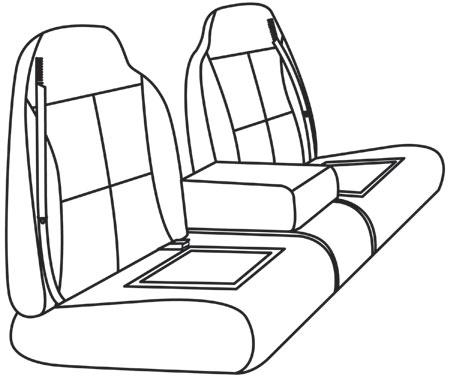 elegant seat style 10F