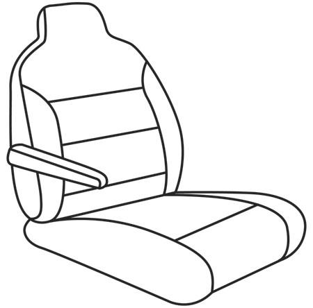 elegant seat style 11F