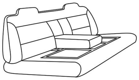 elegant seat style 12A