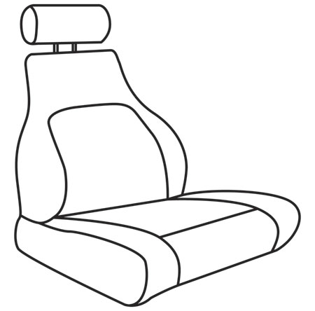 elegant seat style 18A