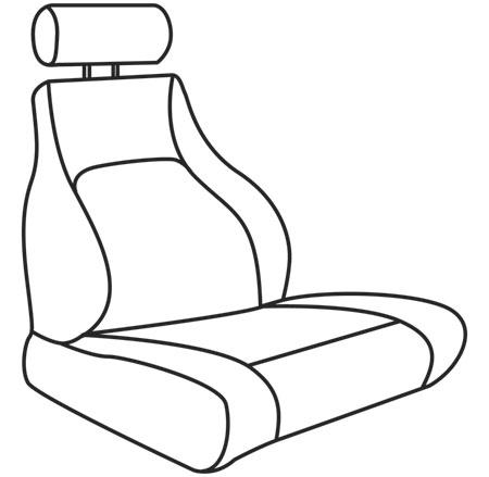 elegant seat style 18B
