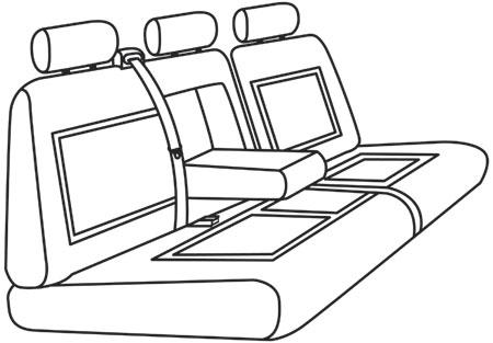 elegant seat style 19A