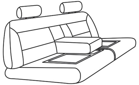 elegant seat style 19B