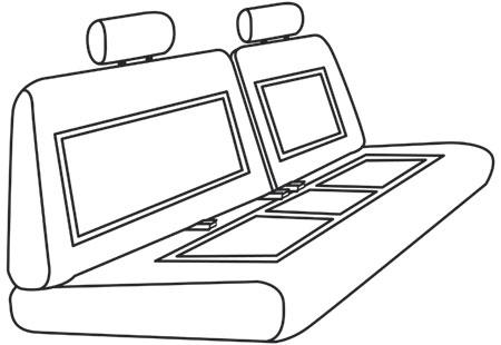 elegant seat style 19D
