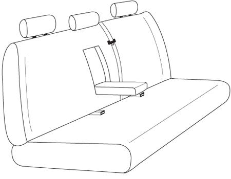 elegant seat style 25C