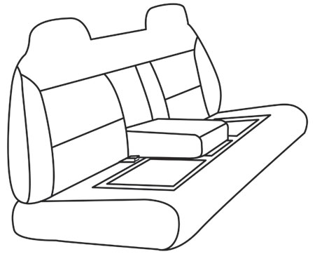elegant seat style 35B