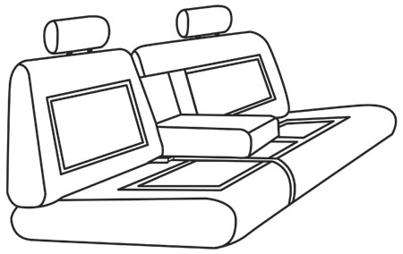 elegant seat style 36D
