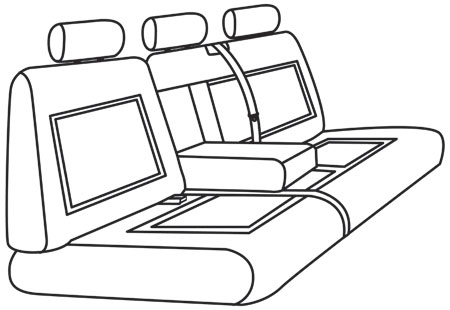 elegant seat style 37B