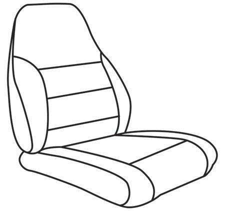 elegant seat style 4A