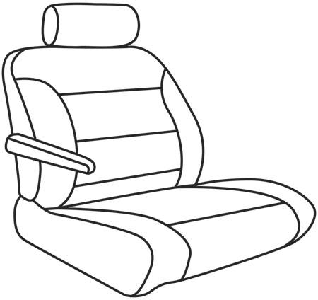 elegant seat style 53A