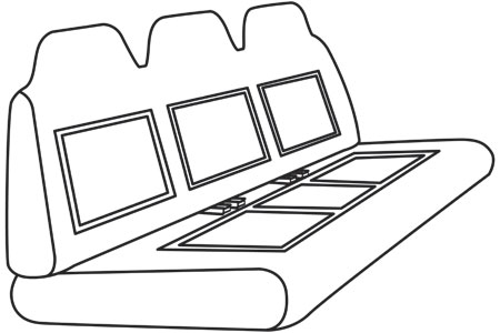 elegant seat style 55C