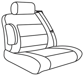 elegant seat style 03D