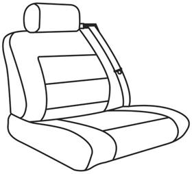 elegant seat style 03F