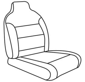 elegant seat style 04B