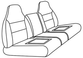 elegant seat style 12C