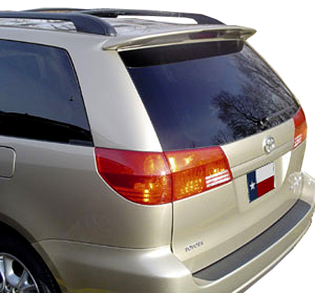 elite spoilers ABS153A toyota sienna 05-08