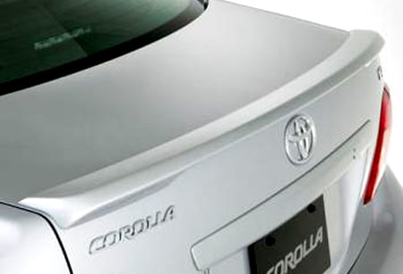 elite spoilers ABS203A toyota corolla 09