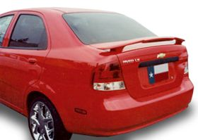 elite spoilers ABS120A hyundai accent 06-08