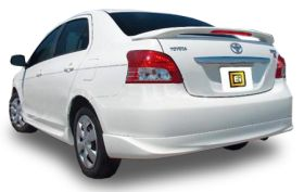 elite spoilers ABS180A toyota yaris 06-08