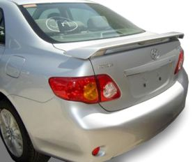 elite spoilers ABS188A toyota corolla 09