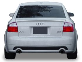 elite spoilers ABS214A audi a4 02-05