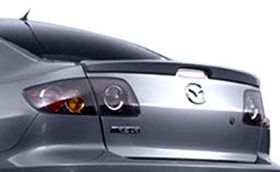 elite spoilers ABS219A mazda 3 04-08