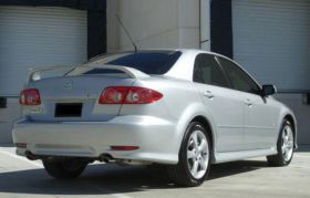 elite spoilers mazda abs132xl