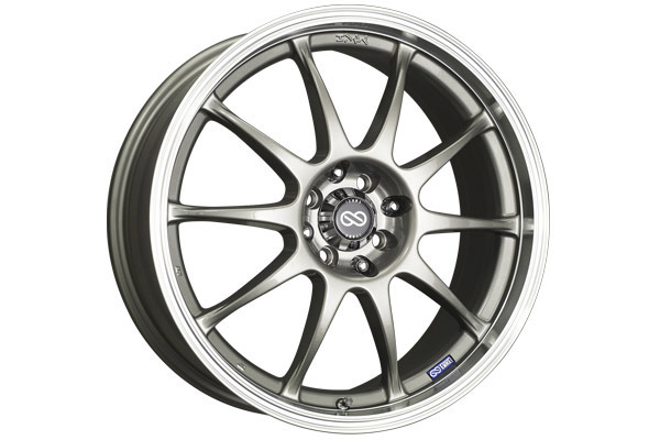 enkei j10 performance wheels silver sample