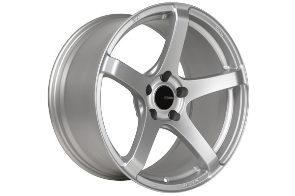 enkei kojin tuning wheels matte silver sample