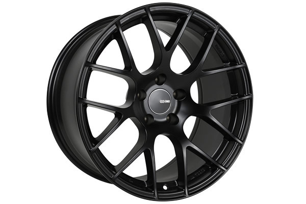 enkei raijin tuning wheels black sample
