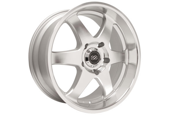 enkei st6 truck and suv wheels silver machined sample