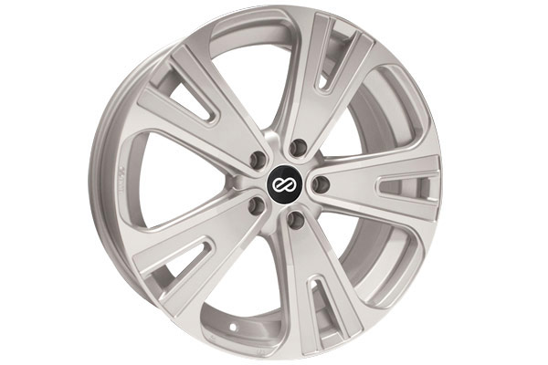 enkei svx truck and suv wheels silver machined sample