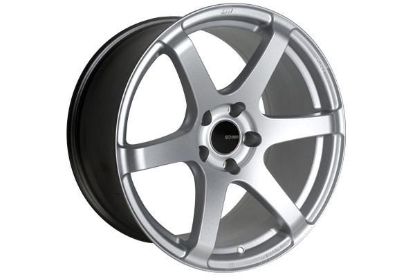enkei t6s tuning wheels matte silver sample