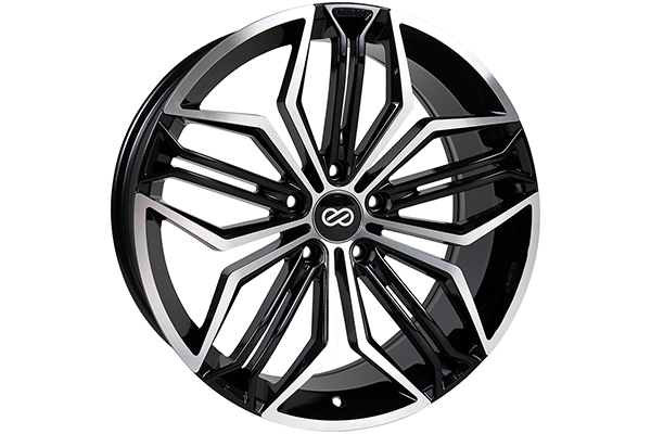 enkei cuv truck suv wheels black machined sample