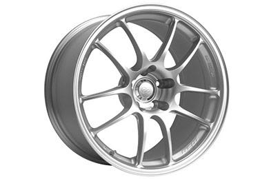 enkei pf01 racing wheels silver sample