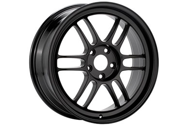 enkei rpf1 racing wheels black sample