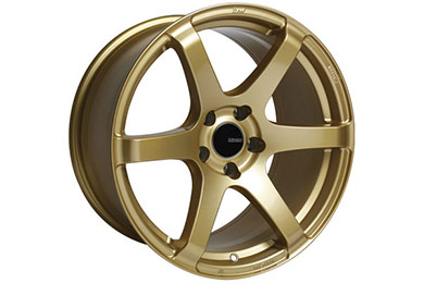 enkei t6s tuning wheels gold sample