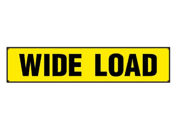Wide Load Sign >> Erickson Wide Load Sign Towing Sign Free Shipping